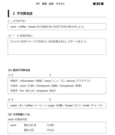 スタディサプリ テキスト 英語応用